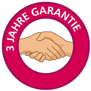 Umfangreiches Garantiepaket