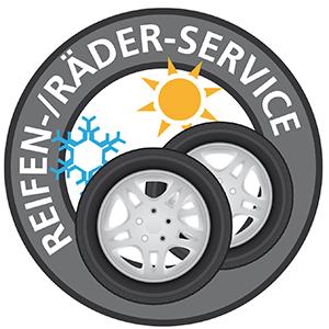 Reifen-/Räder-Service
